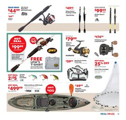 Kayak deals in the Academy weekly ad in Knoxville TN