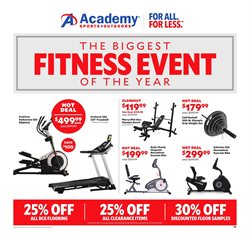 Sports deals in the Academy weekly ad in Aiken SC