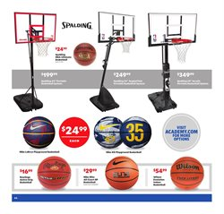 Basketball deals in the Academy weekly ad in Aiken SC
