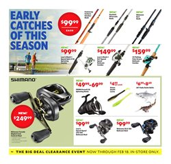 Fishing deals in the Academy weekly ad in Concord NC
