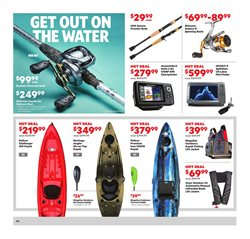 Kayak deals in the Academy weekly ad in Springfield MO