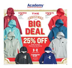 Academy deals in the Fort Worth TX weekly ad