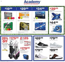 Academy catalogue in Dallas TX ( 2 days left )