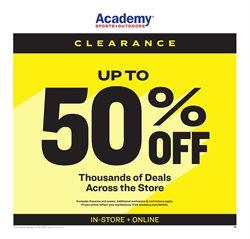 Academy catalogue in Gadsden AL ( Expired )