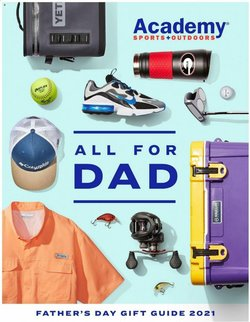 Sports deals in the Academy catalog ( Expires today)