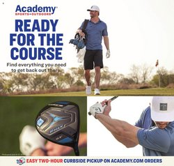 Sports deals in the Academy catalog ( 4 days left)
