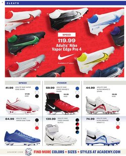 Nike deals in the Academy catalog ( 29 days left)