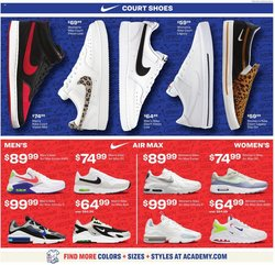 Nike deals in the Academy catalog ( Expires tomorrow)