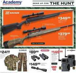 Sports deals in the Academy catalog ( Expires tomorrow)