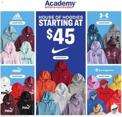 Sports deals in the Academy catalog ( Published today)