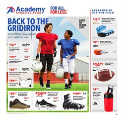 Sports deals in the Academy weekly ad in Houston TX