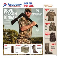 Academy deals in the Houston TX weekly ad