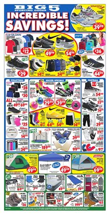 Big5 Sporting Goods deals in the Phoenix AZ weekly ad