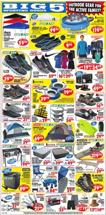 Sports deals in the Big5 Sporting Goods weekly ad in Corvallis OR