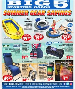 Sports offers in the Big5 Sporting Goods catalogue in Hesperia CA ( 2 days ago )