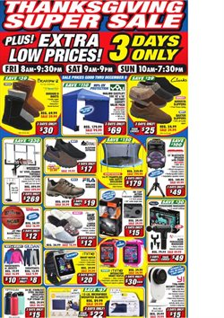 Sports offers in the Big5 Sporting Goods catalogue in San Luis Obispo CA ( 2 days ago )