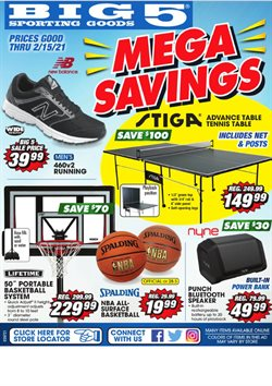 Big5 Sporting Goods catalogue in San Francisco CA ( Expired )