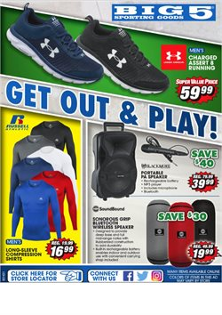 Big5 Sporting Goods catalogue ( Expired )