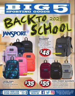 Sports deals in the Big5 Sporting Goods catalog ( 3 days left)