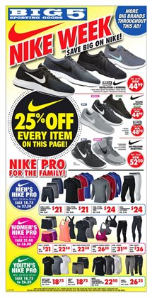 Sports deals in the Big5 Sporting Goods weekly ad in Kent WA