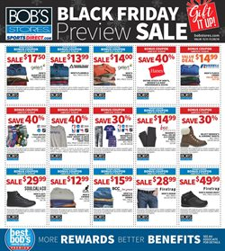 Sportswear deals in the Bob's Stores weekly ad in East Lansing MI