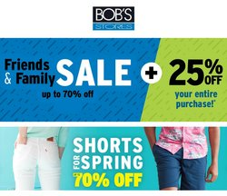 Sports offers in the Bob's Stores catalogue in Cicero IL ( 7 days left )