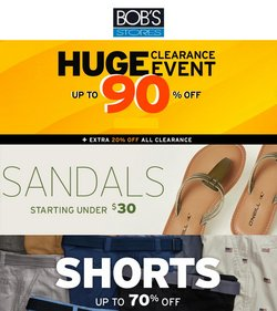 Sports deals in the Bob's Stores catalog ( 5 days left)