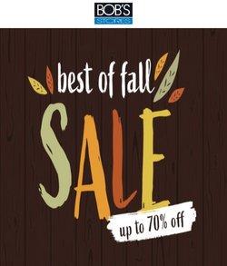 Bob's Stores deals in the Bob's Stores catalog ( Expires tomorrow)