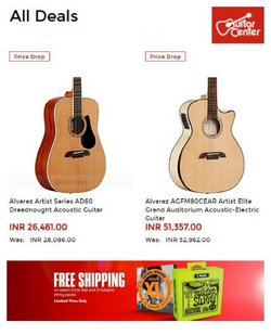 Gifts & Crafts deals in the Guitar Center catalog ( Expires tomorrow)