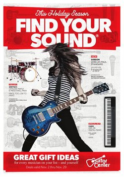 Guitar Center deals in the Houston TX weekly ad