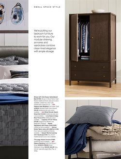 Shelving deals in the Crate&Barrel weekly ad in Largo FL