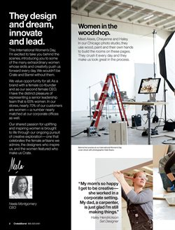 Covers deals in the Crate&Barrel weekly ad in New York
