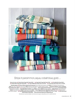 Towels deals in the Crate&Barrel weekly ad in New York