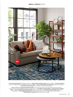 Mirror deals in the Crate&Barrel weekly ad in New York