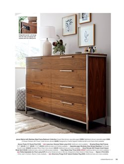 Dresser deals in the Crate&Barrel weekly ad in New York