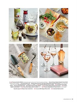 Flowers deals in the Crate&Barrel weekly ad in New York