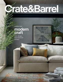 Crate&Barrel catalogue in Dallas TX ( More than a month )
