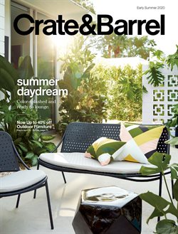 Crate&Barrel catalogue in Austin TX ( 1 day ago )