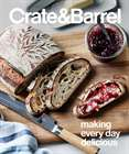 Crate&Barrel catalogue ( More than a month )