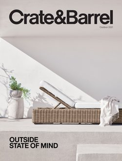 Home & Furniture deals in the Crate&Barrel catalog ( 4 days left)