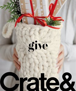 Christmas deals in the Crate&Barrel weekly ad in New York