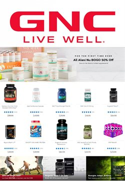 Beauty & Personal Care deals in the GNC weekly ad in Los Angeles CA