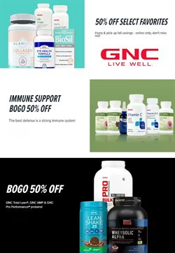GNC catalog ( Published today)