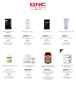 Beauty & Personal Care offers in the GNC catalogue in Schaumburg IL ( 5 days left )