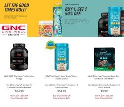 GNC catalog ( Expired)