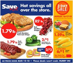 Save a Lot deals in the Michigan City IN weekly ad