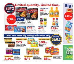Water deals in the Save a Lot weekly ad in Springfield MO