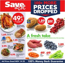 Grocery & Drug deals in the Save a Lot weekly ad in Charleston WV