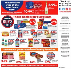 Pepsi deals in the Save a Lot weekly ad in Dallas TX