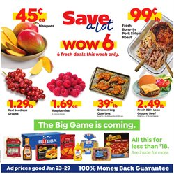 Grocery & Drug deals in the Save a Lot weekly ad in Lancaster PA